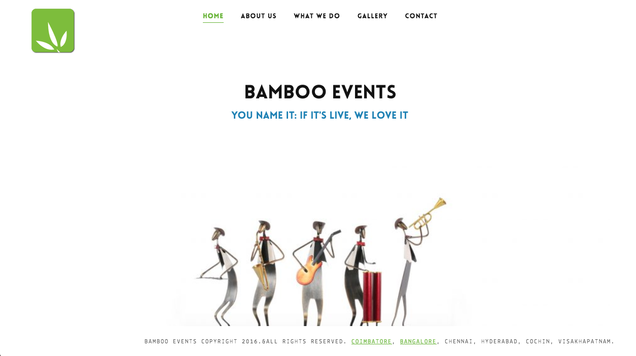 Bamboo Events Chennai