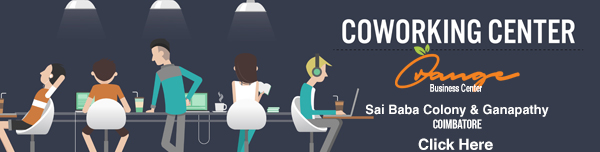 coworking space in saibaba colony & ganapathy
